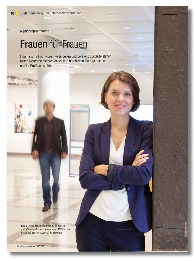 Dr. Oksana Zhebel, Geophysicist, Hamburger Wirtschaft