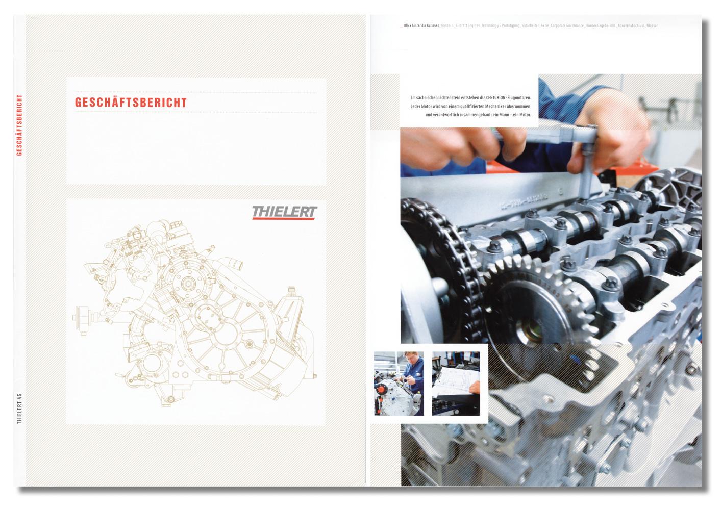 Geschäftsbericht, Thielert Flugzeugmotoren