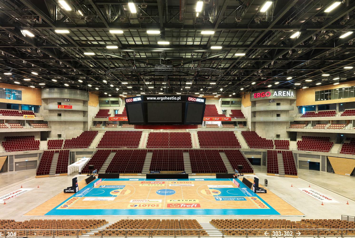 Ergo Arena, Danzig, Poland