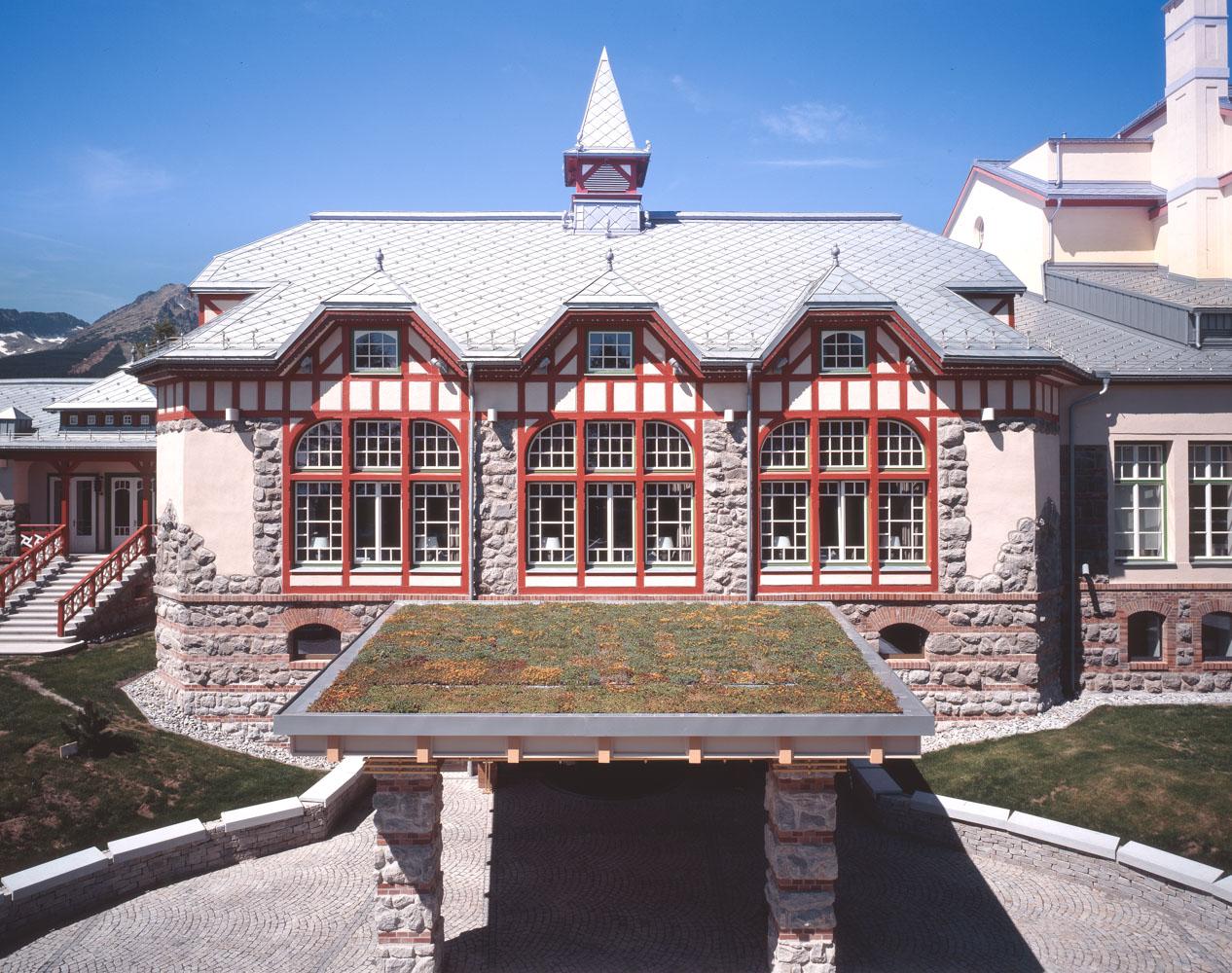 Hotel, Štrbské Pleso, Vysoké Tatry, Slovakia