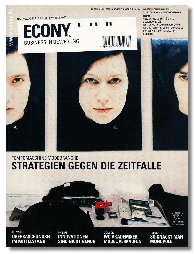Econy, Mode Titelgeschichte