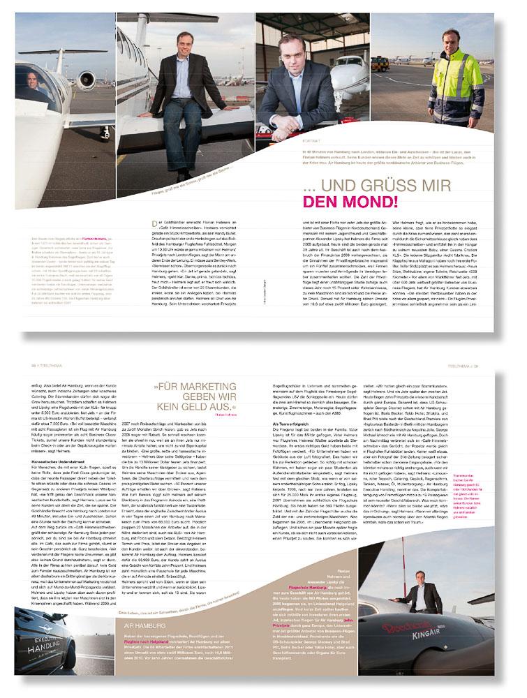 Veröffentlichung Air Hamburg 2